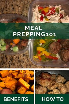Meal Prepping 101 - Benefits - Tips - Meal Ideas Meal Prep For Beginners, Clean Eating, Healthy Eating, Food Preparation, Meal Ideas, Benefit, Prepping, Healthy Recipes, Posts