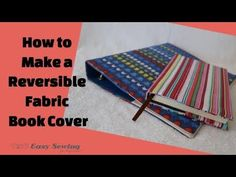 I love sewing these fabric book covers. They can make a boring looking book or folder more colourful and attractive in no time. This easy sewing project would also make a great back to school project! And of course, I've created a full video tutorial to make it as easy as possible for you to …