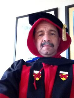 """""""Besides the bad photography and the less than photogenic model....what about this is suspicious to you? Just asking...""""    Dr. Kenneth Monteiro Dean, College of Ethnic Studies San Francisco State University"""