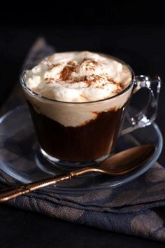 You searched for Hot chocolate - Olivia's Cuisine Pumpkin Spice Hot Chocolate Recipe, Hot Chocolate Milk, Hot Chocolate Recipes, Vegetarian Chocolate, Pumpkin Puree, Kitchen Recipes, International Recipes, Yummy Treats, Food Photography