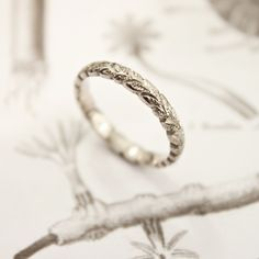 laurel leaf ring