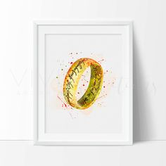 One Ring Poster, The Lord of the Rings Watercolor Art Print, Digital Watercolor Art, Kids Decor, Childrens Room Wall Art, Minimalist Art, Home or Office Decor [No. 1-6] Dont want to deal with POOR QUALITY PRINTS + RETURNS? Get it right the first time with VividEditions! We use