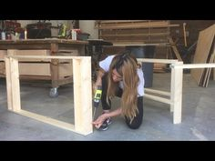 DIY Art Play Table with Paper Roll Tutorial - YouTube