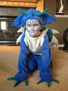 Skylanders Custom Children's Costume (duct tape dummy required)
