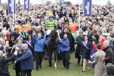 Reason 11 - Horse racing - 2012 Cheltenham gold Cup winner Synchronised with A P McCoy onboard and trainer Jonjo O'Neill - pic by Gavin James.jpg (4896×3264)