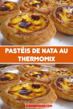 Pastéis de nata au Thermomix - The Best Dinner Recipes Chef Recipes, Cooking Recipes, Dessert Thermomix, Batch Cooking, Fresh Vegetables, Eating Plans, Recipe Using, Food Inspiration, Chicken Recipes