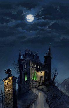 Haunted House.  ~ Ʀεƥɪииεð вƴ╭•⊰✿ © Ʀσxʌиʌ Ƭʌиʌ ✿⊱•╮