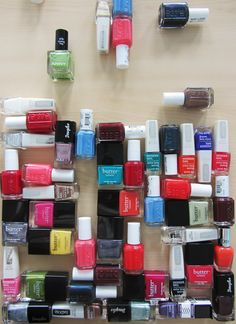 #butterLONDON, #essie, #ISADORA, #douglasabsolute, #ANNY... what a wonderful nailpolish world! #douglas