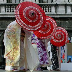 venezia - kimono 3 | umbrella