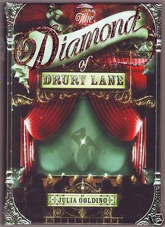 SIGNED Julia Golding THE DIAMOND OF DRURY LANE;  1st