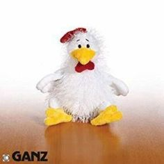Webkinz Chicken Plush with Sealed Code Tag HM205 | eBay Best Kids Toys, Plush, Coding, Chicken, Tags, Animal, Detail, Ebay, Animals
