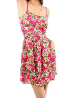 Vestido Flower pro DaPri