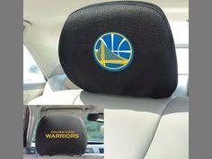 "NBA - Golden State Warriors Head Rest Cover 10""""x13"""""