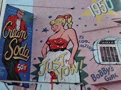 "American 50's Style Shop ""Cream Soda"" Meiji-Street, Harajuku, Tokyo, Japan, 1977"