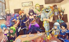 Brave Frontier - The 12 Guardians by Vayreceane on DeviantArt