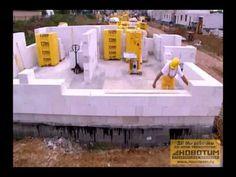 Строительство дома из газобетона Ytong. Газобетон итонг позволяет строить несущие стены здания высотой до 3-х этажей. Газобетонные блоки Итонг. Блоки итонг. ...