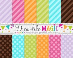 Dreamlike Magic Designs-many free digital paper downloads!