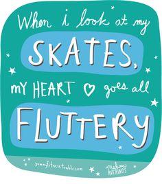 roller skate!