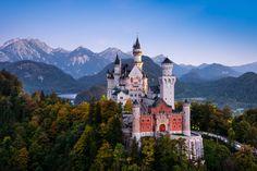 Castelo Neuschwanstein, Alemanha.