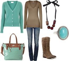 turquoise by sandreamarie, via Polyvore