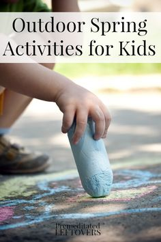 Get the kids outside and enjoying the weather with these spring activities that will give them hours of easy and fun games to play.