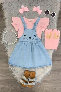 Shop cute kids clothes and accessories at Sparkle In Pink! With our variety of kids dresses, mommy + me clothes, and complete kids outfits, your child is going to love Sparkle In Pink! Little Girl Outfits, Toddler Girl Outfits, Baby Girl Dresses, Baby Dress, Little Girls, Kids Outfits, Easter Girl Outfits, Baby Girl Fashion, Toddler Fashion