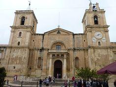 La Valletta, Catedral de San Juan, Malta.