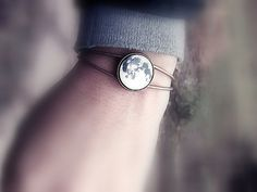 Full Moon Bracelet Space Jewelry Moon Jewelry Galaxy Stars Night Christmas Gifts For Her