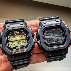 "efe7acd95 G-SHOCK Steven Watch Collector on Instagram  ""👑 THE KINGS 👑 Wich one you  prefer  Casio G-Shock GXW-56 (left) or GX-56BB (right)   gx56  gxw56 ..."