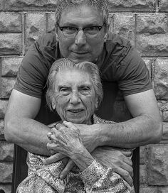 Instead of complaining when his 93-year-old mom moved in, he got his camera.