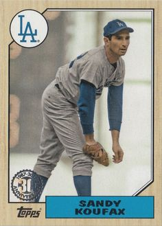 Compare prices on Sandy Koufax Dodgers Cards and other Los Angeles Dodgers fan gear. Save money on Dodgers Sandy Koufax Cards by viewing results from top retailers. Dodgers Nation, Dodgers Baseball, Baseball Players, Baseball Field, Baseball Cards, Dodgers Fan, Football, Sandy Koufax, Baseball Pictures