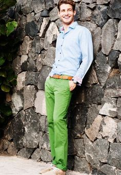 green pants?