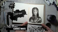 Carrie White from Stephen King's Carrie - Bad Ass Ladies of Horror - Inktober 2018 - Timelapse Art Carrie White, Horror Films, Inktober, Carry On, Badass, Draw, My Favorite Things, Lady, Hand Luggage