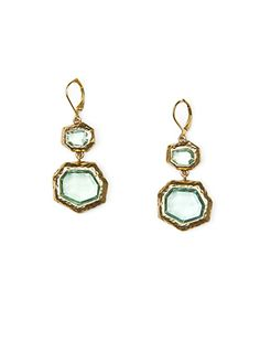 MANGO - TOUCH - Faceted stones earrings