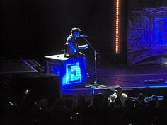 Matt Webb of Marianas Trench performing at the ACC on 2/19/12