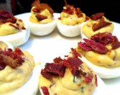 Bacon-Jalapeno Deviled Eggs