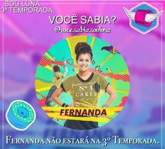 Ainda bem que a Fernanda não vai estar na 3 temporada de sou luna