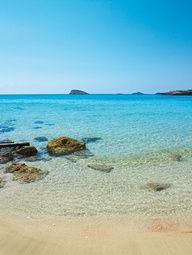 Cala Nova, Ibiza - now there is Atzaro Beach Club up the hill - the chiringuito down at the beach has great salads & Co. Vacation Places, Vacation Spots, Places To Travel, Places To Visit, Beautiful Islands, Beautiful Beaches, Style Ibiza, Ibiza Formentera, Ibiza Beach