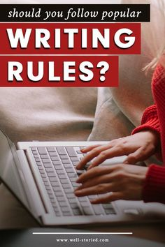 Popular writing rules exist for a reason. Or do they? Today, let's discuss whether prescriptive writing advice is really worth following. Book Writing Tips, Article Writing, Writing Practice, Start Writing, Personal Mantra, Writers Write, Fiction Writing, Writing Inspiration, Cool Words