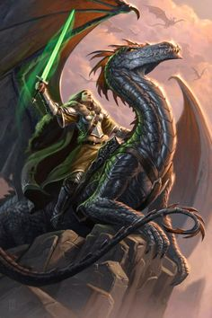 """""""The brave ones did not kill dragons. The brave ones rode them."""""""
