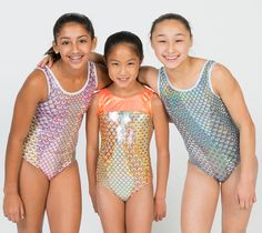 Destira: Silver Mermaid Leotard#leotard #leotards #gymnastics
