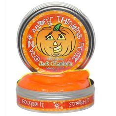 At Green Rainbow Revolution: Crazy Aaron's Thinking Putty // Limited Edition Holiday Colors // Halloween // Jack O'Lantern