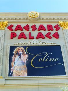 Celine Dion at Caesars Palace in Las Vegas in June 2012. One of the most beautiful concerts I've been to. Her voice is gorgeous. Couldn't take photos so this is the best I could do.