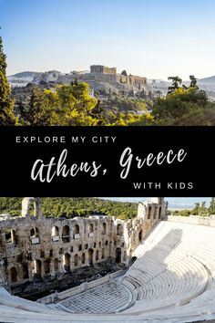 Unforgettable Athens, Greece. Must-see destinations are just a day away from beautiful Athens, Greece. The very best things to see and do in Athens, Greece | Best of Athens | Family-friendly Athens | Greece with kids | Athens with Kids | Our Globetrotters Family Travel Blog Weekend Trips, Day Trips, Best Family Vacation Destinations, Travel Destinations, Greece With Kids, Kamari Beach, Kids Travel Activities, Europe Travel Guide, Travel Tips
