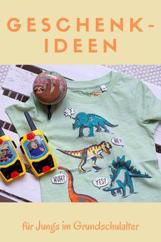 Praktische, kreative und ausgefallene Geschenk-Ideen für Jungs findest Du hier. Sweatshirts, Sweaters, T Shirt, Tops, Women, Fashion, Presents For Guys, Gifts For Children, Gift Ideas For Guys