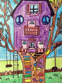 """From exhibit """"Treehouses""""  by Hayden224"""