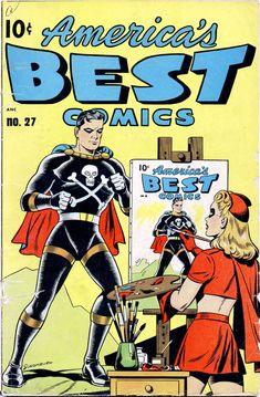 Comic Book Cover For America's Best Comics #27