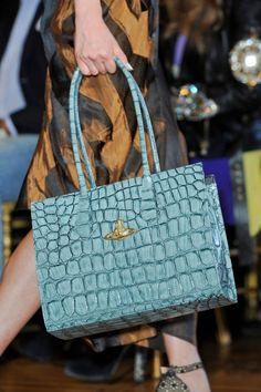 Classic Lady Handbags at Vivienne Westwood Spring 2013