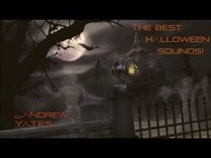 halloween projector background and sound effects youtube - Spooky Halloween Music Youtube