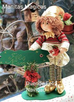 Christmas Elf, Christmas Ornaments, Santa Ho Ho Ho, Elves, Teddy Bear, Dolls, Holiday Decor, Party, Reindeer